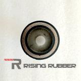 Manguito de goma hidráulico del espiral del alambre de acero para la industria del caucho R12