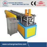 CE y espárrago galvanizado ISO y rodillo de acero de la pista que forma la máquina