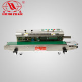 Sellador continuo superior de la venda de vector de Hongzhan CBS900W para la bolsa de plástico