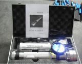 Polizei Flashlight Hot Sale Torch Light mit Battery D-SD01