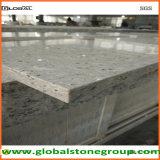 Dessus gris artificiels de Tableau de quartz pour l'hospitalité/entrepreneur de meubles