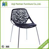 黒いくり抜きなさい大枝デザイン食堂の椅子(Antonia)を