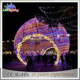Indicatore luminoso esterno decorativo della sfera di natale dell'indicatore luminoso LED della stringa di grande festival LED