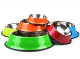 Низкой цены оптовой продажи логоса магазинов шар собачьей еды нержавеющей стали расслоины изготовленный на заказ противоскользительный Non