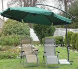 Parapluie extérieur de décalage d'ombre de jardin de syndicat de prix ferme