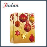 De goedkope Zak van het Document van de Gift van Kerstmis van het Met een laag bedekte Document van de Manier Glanzende Vrolijke
