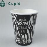 Tazas de papel de la venta de Hztl del café caliente popular caliente de la bebida disponibles