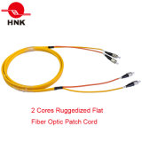 Sc/LC/FC/St/Mu/MTRJ/E2000 Connectors를 가진 PC/Upc/APC Simplex Duplex Singlemode Multimode Fiber Optic Patch Cord