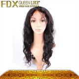 Lace svizzero di seta Hair brasiliano Wigs per le donne di colore