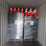 36 pouces cône noir de circulation de PVC de base de 5 kilogrammes