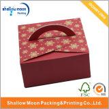 Cake fragile Box Takeaway Cake Packaging Box con Handle (AZ-121711)