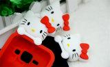 Caixa do telefone do silicone do gato da vaquinha para a tampa do telefone móvel do LG K10 K5 K7 J5 J7 P8 P9lite (XSK-011)