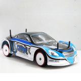 1/10 coche sin cepillo eléctrico 4WD de la deriva RC de RC RTR con dimensión de una variable azul