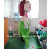 人魚のマンガのキャラクタのマスコットの衣裳
