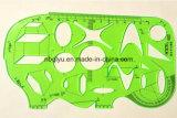 Правитель шаблона чертежа формы слона к студентам