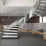 Escaleras helicoidales Escalera espiral Precios Escalera de vidrio curvada