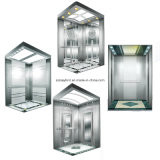 Maschinen-Raum-Passagier-Aufzug mit unbehaarter Edelstahl-Auto-Tür