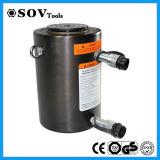 Cylindre hydraulique à longue course télescopique temporaire de série de Clrg double