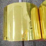Твердая золотистая пленка PVC серебра для шоколадов упаковывая AAA