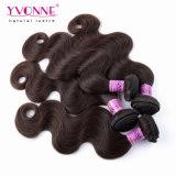 Weave do cabelo humano de Remy dos Peruvian de 100%