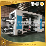 HDPE LDPE PE 4 색깔 Flexographic 인쇄 기계