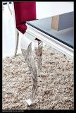 2016 Eettafel Set Hoge kwaliteit Luxe European Style Glass Table