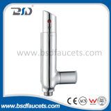 Chromed Wall-Mounted Bathroom Misturador de banho termostático Faucet de temperatura constante