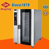 Tellersegment-elektrischer Heißluft-Zirkulations-Ofen-Konvektion-Ofen des Staniless Stahl-10