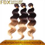 De Uitbreidingen van het Haar van Ombre van het Menselijke Haar van 100%