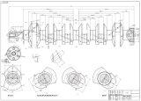 Volle Billet-Kurbelwelle CNC-4340 für Nissans Ld28/Tb48 (ALLE MODELLE)