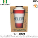 2016 populäres ungiftiges Klimabambusfaser-Cup (HDP-0424)