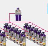 자동적인 중앙 플라스틱 운반 시스템 지류