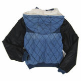 Das Most Popular für Child, Denim Jacket, PU Sleeve, Child Jacket