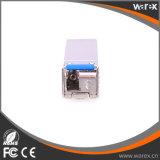 Cisco совместимое 10GBASE-BX 1270nm TX, 1330nm RX, 10.3Gbps, SM, 60km, одиночные приемопередатчики LC SFP+