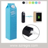 Milch-Entwurfs-USB belastete backupenergie 2600mAh bewegliche Charger&Power Bank