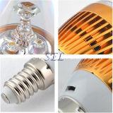 luz da vela do diodo emissor de luz de 3W E14 SMD para o candelabro