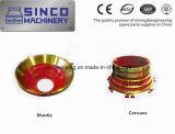 Kegel-Zerkleinerungsmaschine Parst Kaminsims und konkaves mit Qualität