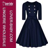 Vestido de festa de escritório de mulher (L36102)