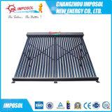 Chauffe-eau solaire pressurisé de tube électronique compact populaire de caloduc