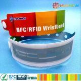 使い捨て可能なMIFARE Ultralight EV1 RFIDの祝祭のスマートなブレスレット