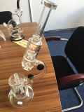 New Arrival LED Glass Smoking Pipes, Borosilicate Glass Water Pipe (glass waterpipe)