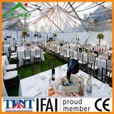 Tienda de aluminio del banquete de boda del marco del pabellón transparente para al aire libre