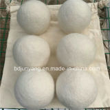 Billes fabriquées à la main de feutre de dessiccateur de blanchisserie de laines dans le prix bas