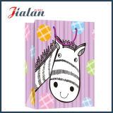 Милый мешок подарка конструкции шаржа животным напечатанный логосом розничный бумажный