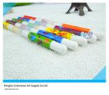6PCS de dubbele Pen van de Kleur van het Water van het Uiteinde voor Jonge geitjes en Studenten
