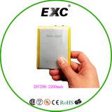 De Navulbare Batterij van het Polymeer van het lithium voor 297290 2200mAh 3.7V