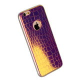 Krokodil Grain Pattern Ultra Thin Soft TPU Leather Fall für iPhone 6s