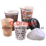 para ir tazas de papel para la consumición caliente o del frío (PC1111)