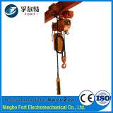 Подъем высокомарочной цепи конструкции аттестации ISO Het01-02 электрический поднимаясь