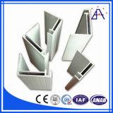 Perfis industriais da liga de alumínio com forma diferente